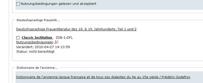 Bildschirmfoto Bildschirmfoto Status abgelehnt